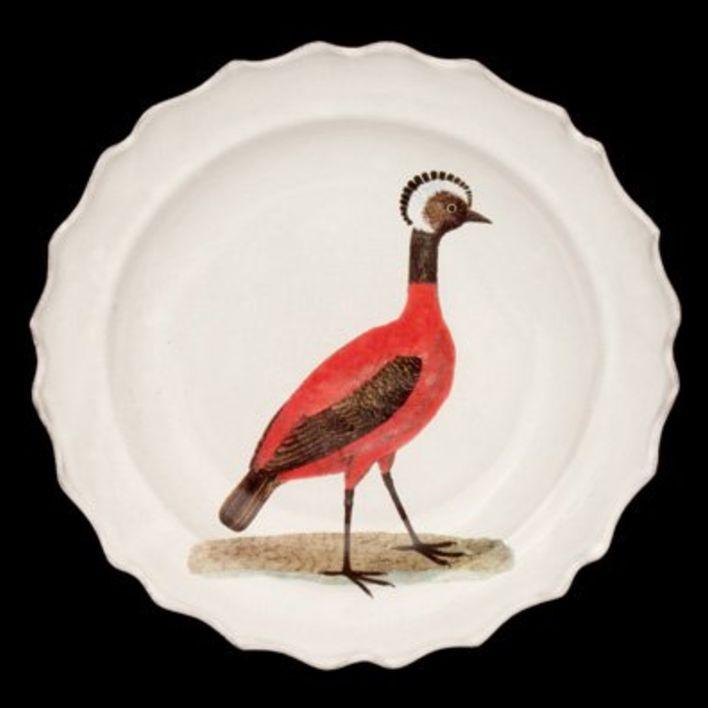 Astier de Villatte John Derian Bord - Rode Peruaanse Hen