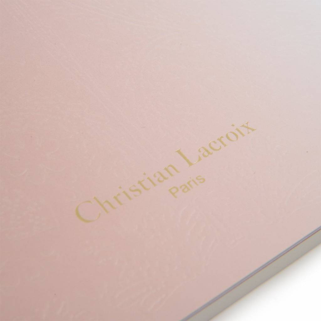 Christian Lacroix Notebook Ombre - Blush