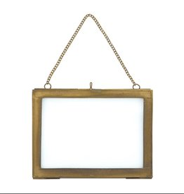 Nkuku Photo Frame - Brass