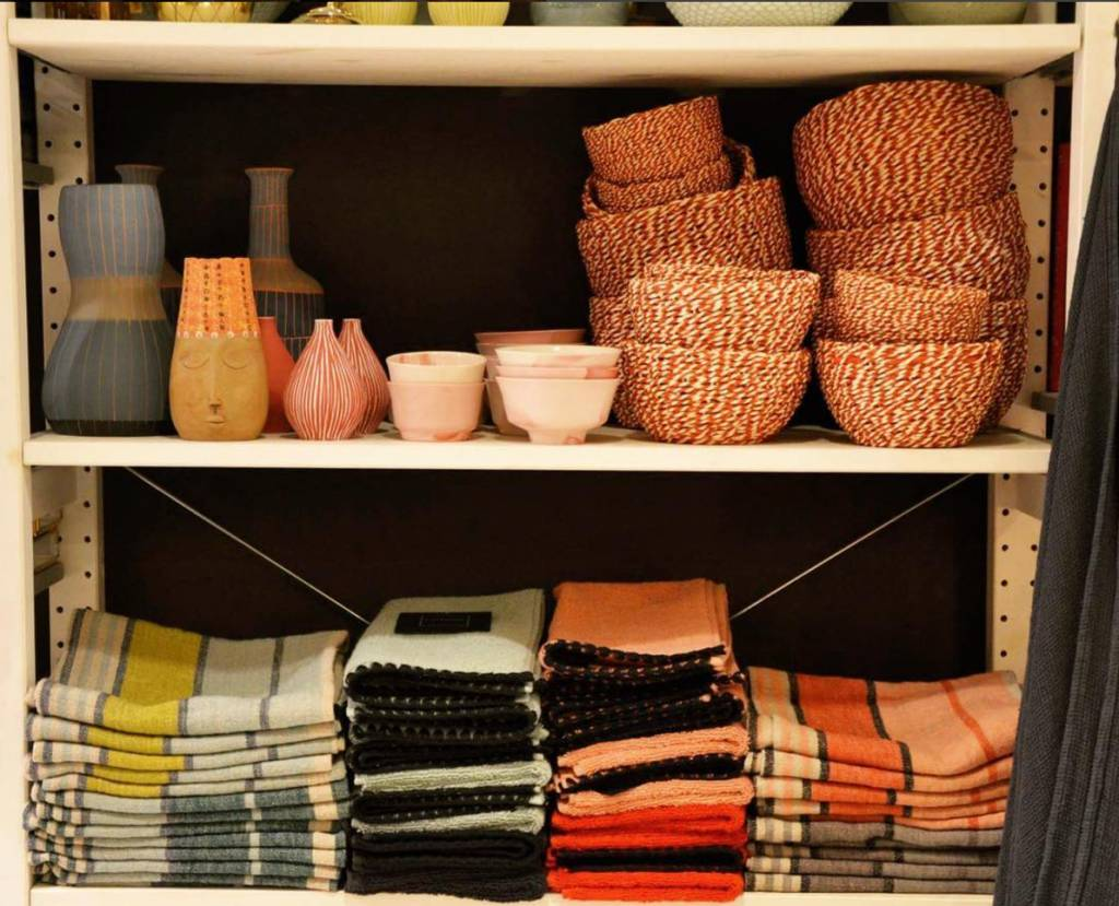 Harmony Tea Towel Linen - Celadon