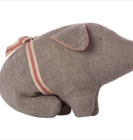 Maileg Cuddle Toy - Pig Grey