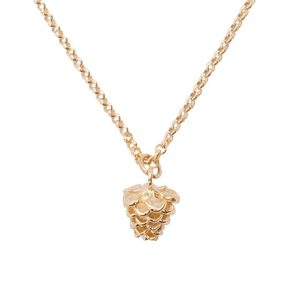 Bobby Rose Necklace - Pinecone