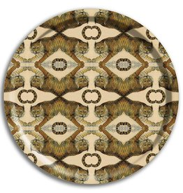 Avenida Home Tray Round - Tigers