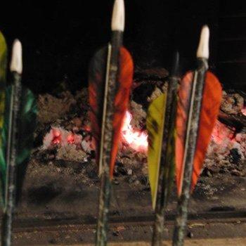 SkyArt Archery. Holzpfeil 11/32 Northern Pine