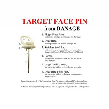 Danage Danage Face Pins