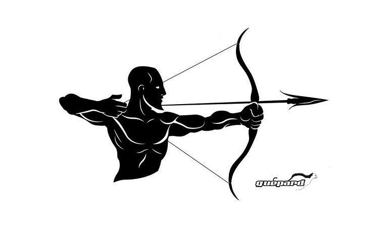 2-D Ziele Bogensport