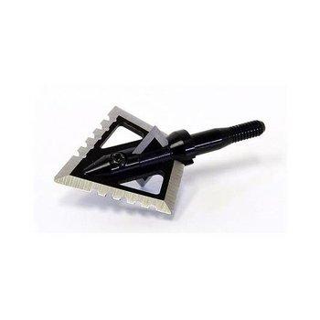 Magnus 100 GRAIN BLACK HORNET 4 BLADE SCREW-IN 3/PK