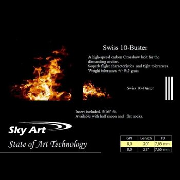 SkyArt Archery. SkyArt 10-Buster. Highspeed Bolt