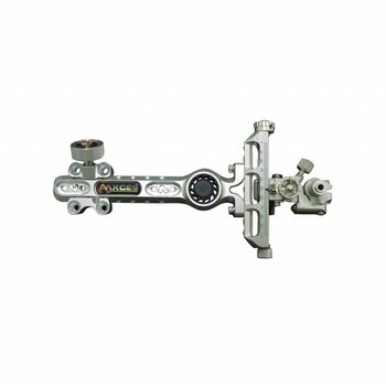 "Axcel SIGHTS COMPOUND BOWS 10-32"" ACHIEVE CXL / LOCK / DAMPER / EXT 6"" RH SILVER"