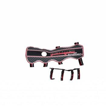 Maximal 30CM REDLINE DOUBLE / P600D / 4 FASTNERS BLACK