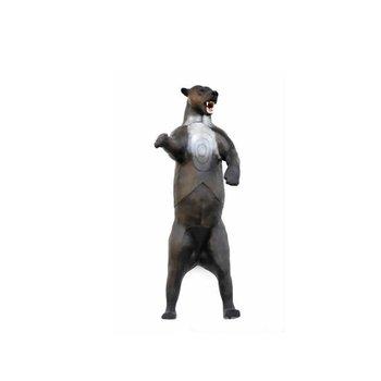 Leitold 3D-Ziel Grizzlybär aufrecht stehend