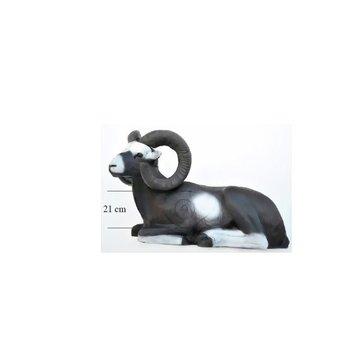 Leitold 3D-Ziel Mufflon liegend