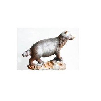 Leitold 3D-Ziel Marderhund laufend