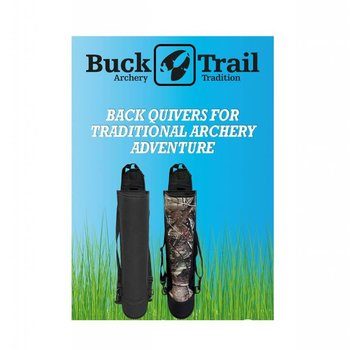 Buck Trail Köcher ADVENTURE NYLON AMBIDEXTROUS 56cm BLACK/CAMO