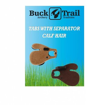Buck Trail Tab CALF HAIR