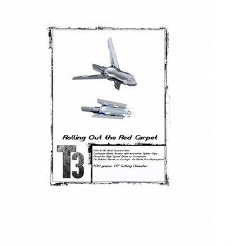 G-5 T3-BLADE 100 GR 3/PK