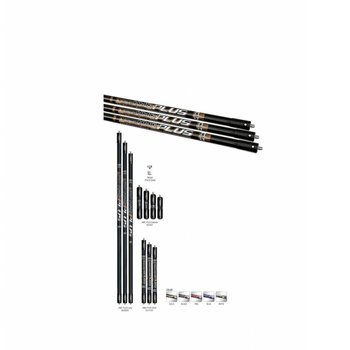 W&W STABILIZERS V-BAR SIDE CARBON HMC PLUS WITH ONE WEIGHT