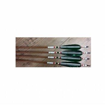 SkyArt Archery. Wood Grain Carbon Fiber Arrows ID 6,2 mm
