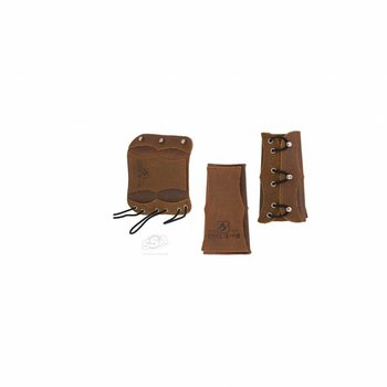 Buck Trail VELVET 16cm BROWN SOFT LEATHER W/ REINFORCEMENT