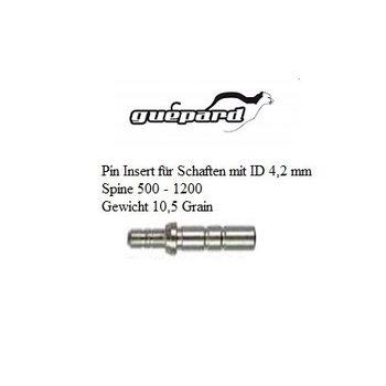 SkyArt Archery. Pin Insert für Schaften mit ID 4,2 mm. Spine 500-1200