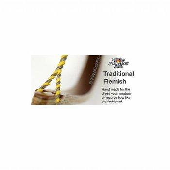 Flex Traditional Flemish Recurve Dacron 2-Colors Black/Silver
