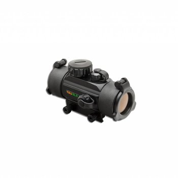 Truglo 'TRADITIONAL' RED DOT 1 X 30MM RHEOST. / BLACK