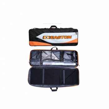 Easton ELITE ROLLER 4416 DOUBLE BOW CASE BLK/ORG/GRY