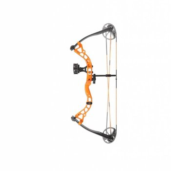 "Bowtech Package ATOMIC DUAL CAM 12""-24""/10-30LBS BRIGHT ORANGE"