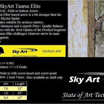 SkyArt Archery. Taurus. 3-D Pfeil-Schaft