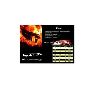 SkyArt Archery. SkyArt Flame. Aluminium Pfeil