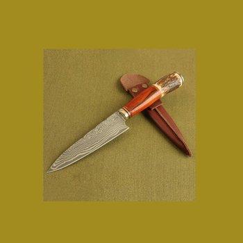 Iguanes.  Jagdmesser aus  Damaskus-Steel