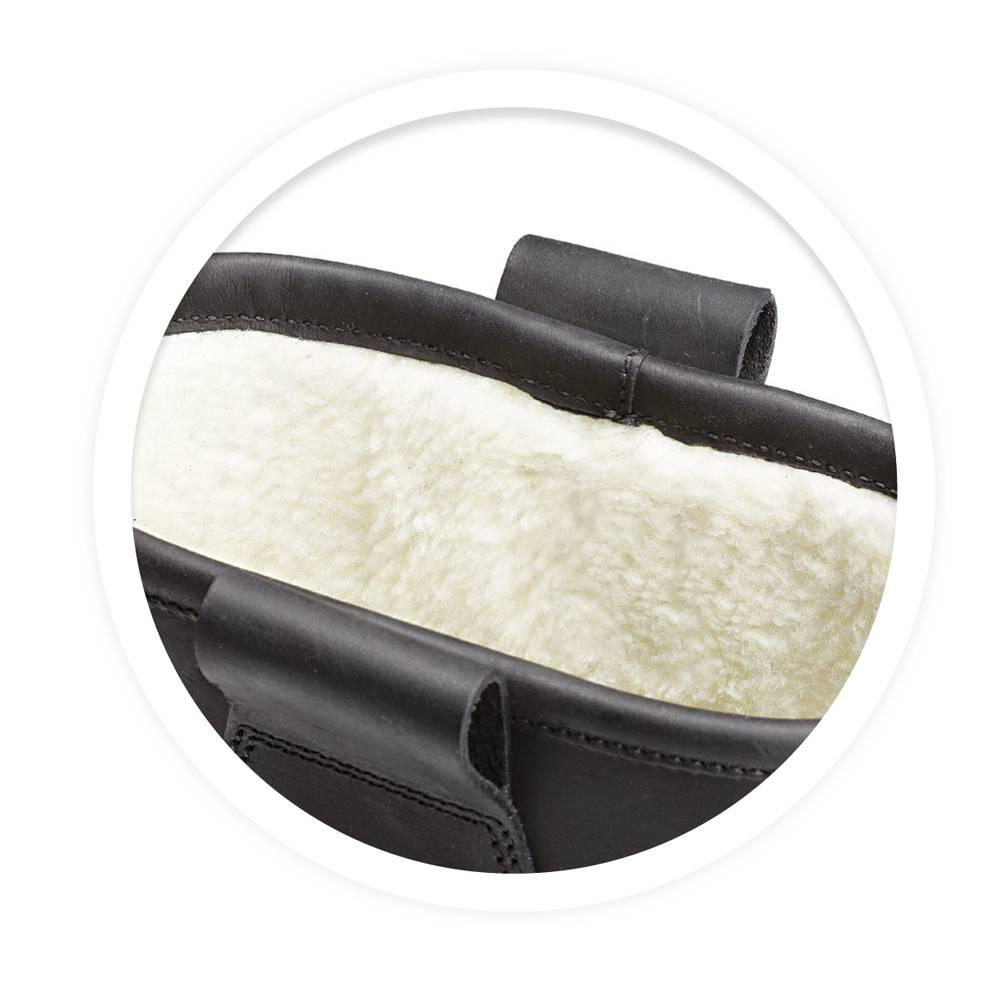 Grisport Grisport werklaarzen wol gevoerd zwart