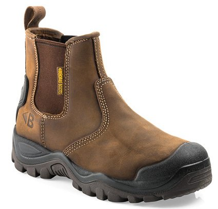 Buckler Boots  Buckler Boots Instapper BSH006BR S3 + KN