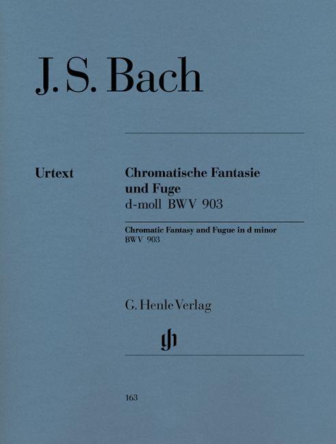 Henle Verlag Bach, J.S. | Chromatsche Fantasie en Fuga in d klein BWV 903 en 903a