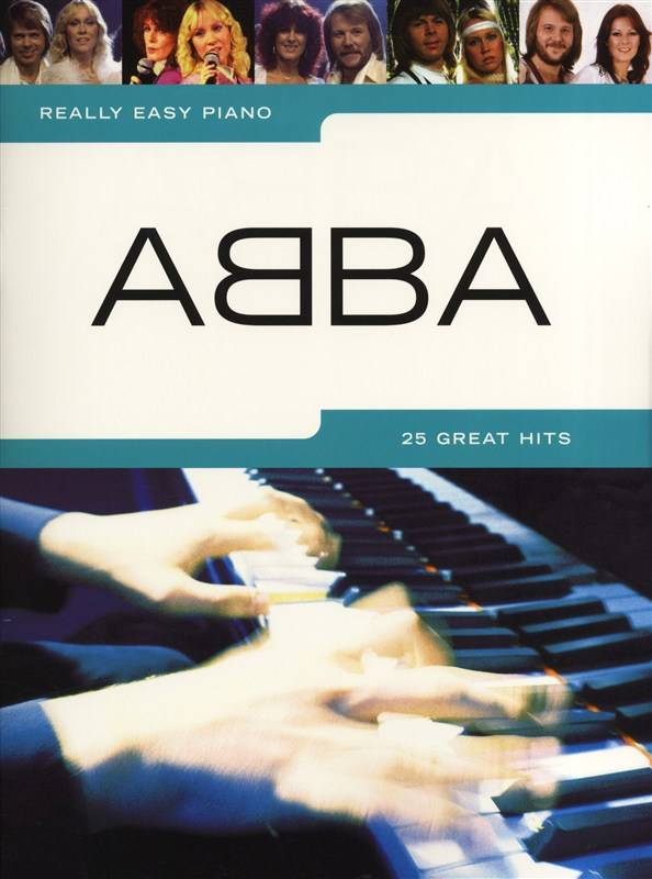 Wise Publications ABBA | Really Easy Piano | Songbook