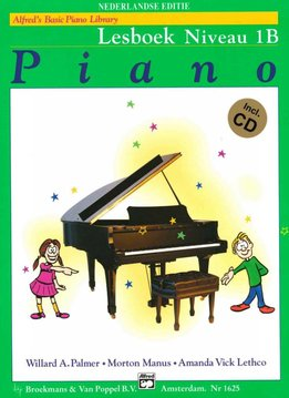 Alfred Alfred's Basic Piano Library | Lesboek 1B + CD