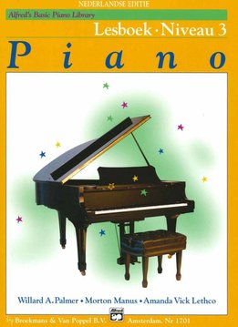 Alfred Alfred's Basic Piano Library | Lesboek 3