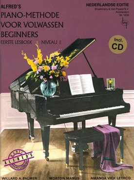 Alfred Alfred's Piano-Methode voor volwassen beginners | Lesboek 1 + CD
