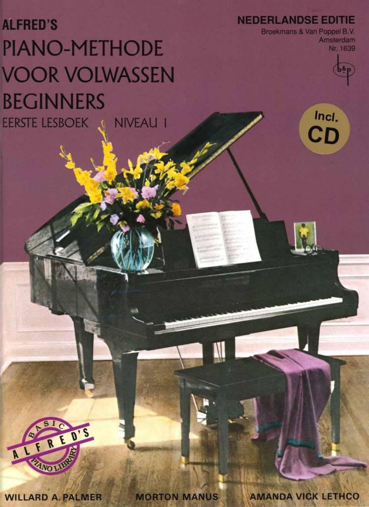 Alfred Alfred's Piano-Methode voor volwassen beginners | Lesboek 1 + CD