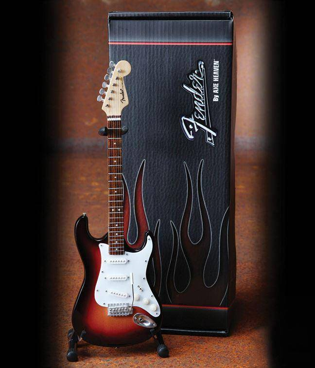 Axe Heaven Axe Heaven miniatuur gitaar | Fender™ Stratocaster™ - Classic Sunburst Finish