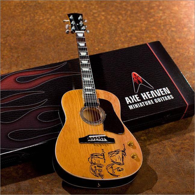 Axe Heaven Axe Heaven miniatuur gitaar | John Lennon Give Peace a Chance Acoustic Guitar
