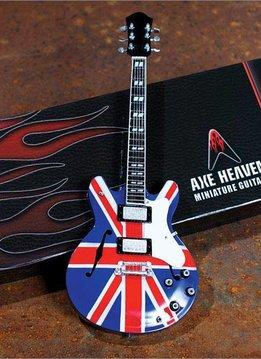 Axe Heaven Axe Heaven miniatuur gitaar | Union Jack Electric Model