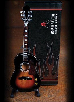 Axe Heaven Axe Heaven miniatuur gitaar | Acoustic Vintage Sunburst Finish Model