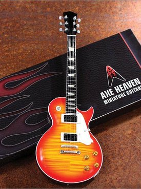 Axe Heaven Axe Heaven miniatuur gitaar | Classic Electric Sunburst Solid-Body Model