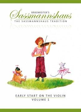 Bärenreiter Early Start on the Violin | Volume 1 | Een vioolmethode voor kinderen vanaf vier jaar