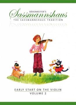 Bärenreiter Early Start on the Violin | Volume 2 | Een vioolmethode voor kinderen