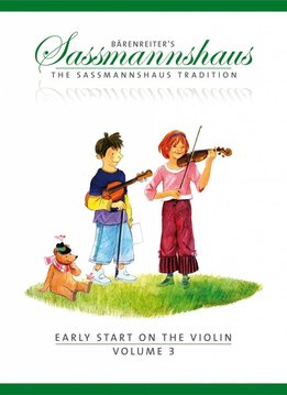 Bärenreiter Early Start on the Violin | Volume 3 | Elementaire duetten en dansen in verschillende sleutels