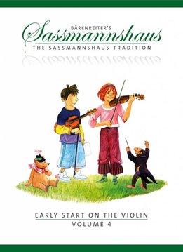 Bärenreiter Early Start on the Violin | Volume 4 | Een vioolmethode voor kinderen