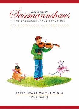 Bärenreiter Early Start on the Viola | Volume 1 | Een altvioolmethode voor kinderen vanaf vier jaar