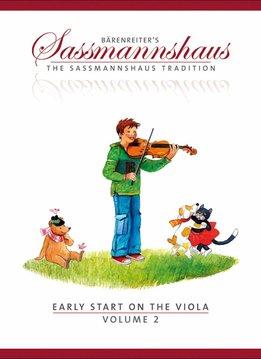 Bärenreiter Early Start on the Viola | Volume 2 | Een altvioolmethode voor kinderen